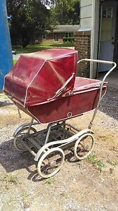 Genial Image Is Loading 1950 Vintage Babyhood Baby Carriage Buggy Stroller By