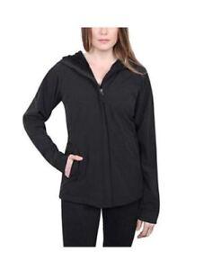 SALE-Kirkland-Signature-Women-039-s-Soft-Shell-Water-Repellent-Hooded-Jacket-F54
