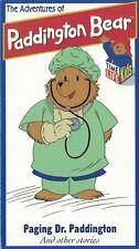 The Adventures of Paddington Bear PAGING DR PADDINGTON & Other Stories VHS