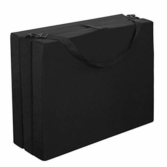 American Furniture Alliance Hide A'Mat 3.5x30 x75 inch Jr Twin TriFold Mattress