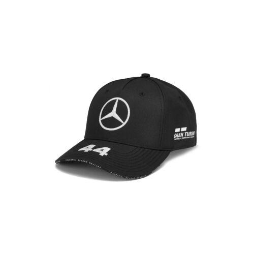 NEW 2019 Mercedes AMG F1 Team MENS Lewis Hamilton BLK Baseball Cap Hat OFFICIAL