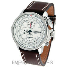 *NEW* SEIKO FLIGHTMASTER PILOT ALARM CHRONOGRAPH WATCH - SNAB71P1 - RRP £295
