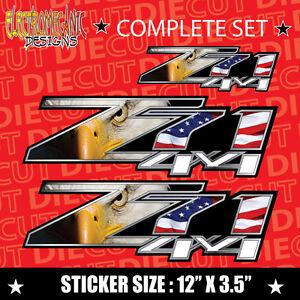 *NEW* 4x4 Offroad american flag Decal Sticker sonoma silverado titan ranger 340