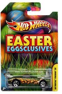 2012 Hot Wheels Wal Mart Easter Eggsclusives 1969 Pontiac Firebird T//A