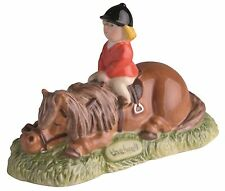 Thelwell John Beswick Don't Tire Your Pony Brown Horse Figure 8cm JBT6BR RRP£28