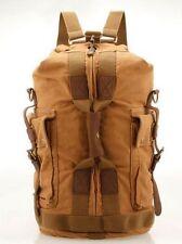 plecak płótno worek torba vintage duży