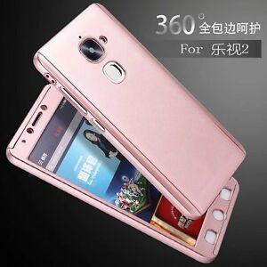 new style 42db4 32e29 Details about 360° Full Hybrid Tempered Glass + Acrylic Hard Case Cover For  LeEco Le 2 Pro S3