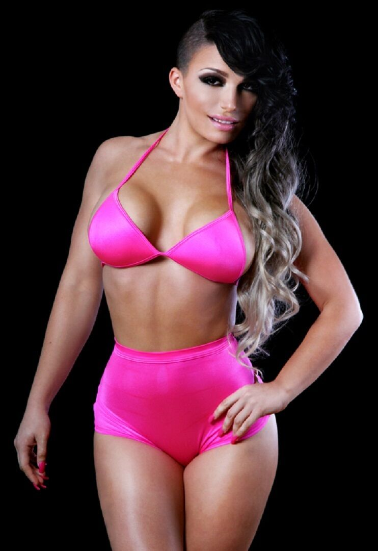 BodyZone Apparel Molded Cup Triangle Top and High Waisted Panty. O S. USA Made