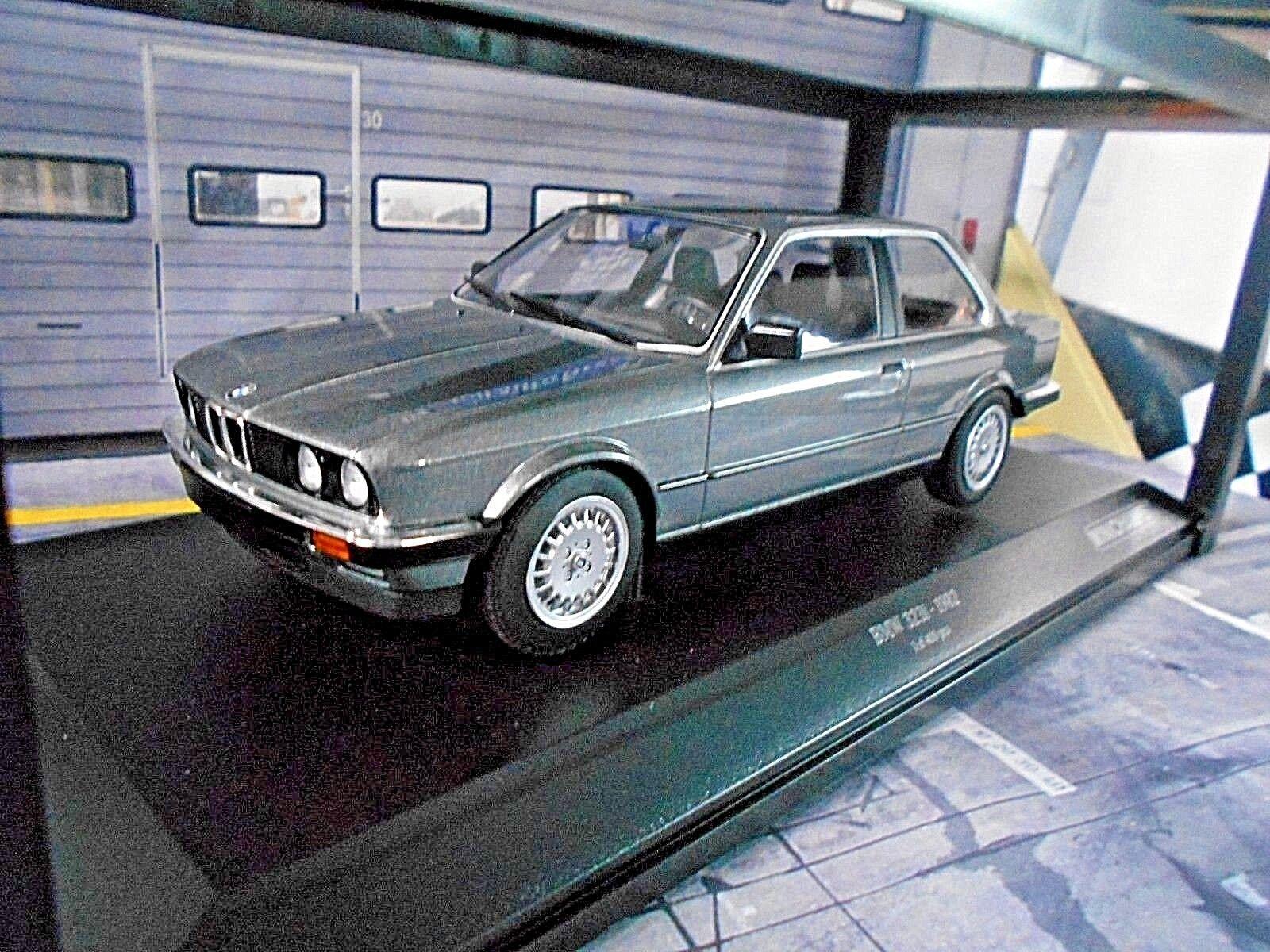 BMW 3er 3 egli Series 323i e30 LIMOUSINE GRIGIO GREY 1982 Minichamps Nuovo New 1:18