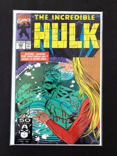 THE INCREDIBLE HULK #382 MARVEL COMICS 1991 NM