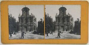Parigi Eglise St.Gervais Foto P39L8n6 Stereo Stereoview Vintage Analogica
