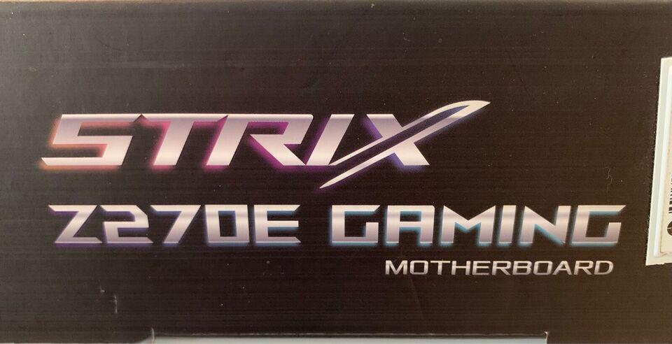 Gamer bundkort, STRIX, Z270E