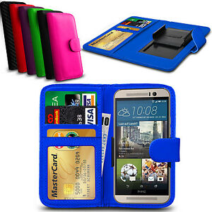 new product e07e2 182ba Details about Clip On PU Leather Flip Wallet Book Case Cover For HTC Desire  820s dual sim