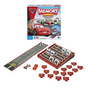 NIB-DISNEY-PIXAR-CARS-2-MEMORY-GAME-Match-amp-Motor-Speedway-HASBRO-Free-Ship