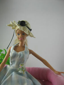 Hand made crochet hat for Barbie,Fashion Royalty,Poppy Parker and similar dolls - Italia - Hand made crochet hat for Barbie,Fashion Royalty,Poppy Parker and similar dolls - Italia