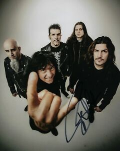 GFA-Anthrax-Band-Bassist-FRANK-BELLO-Signed-Autographed-8x10-Photo-F5-COA