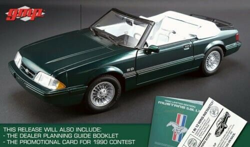 GMP Acme 1 18 1990 Ford Mustang Lx 7-UP 7UP Converdeible 702 hecho