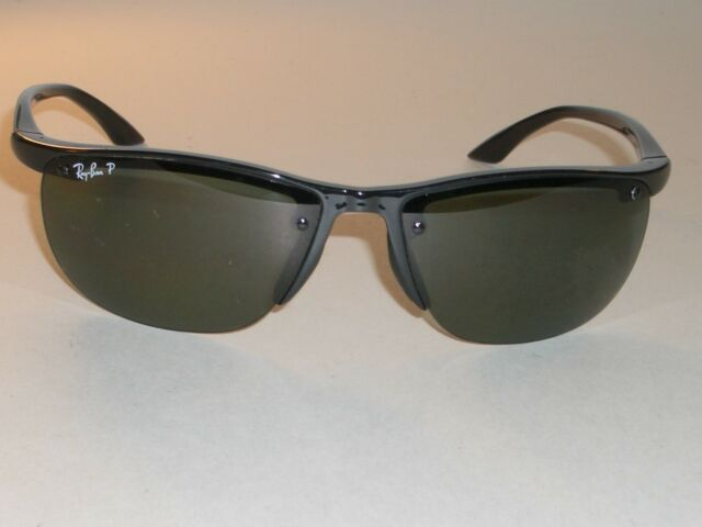 ray ban polarized wrap sunglasses