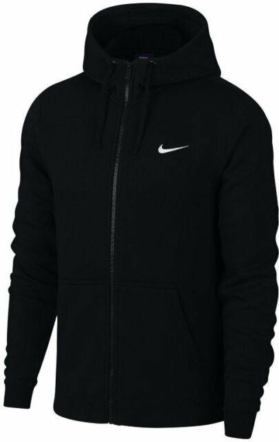 Nike Sportswear Modern Full Zip Hoodie 835858 Black L