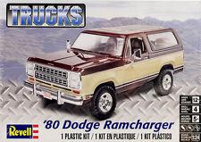 1980 Dodge Ramcharger SUV 1:24 Model Kit Bausatz Revell 4372