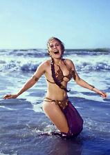 Movie PHOTO 8.25x11.75 Princess Leia Carrie Fisher Jabba?s Slave Bikini 06