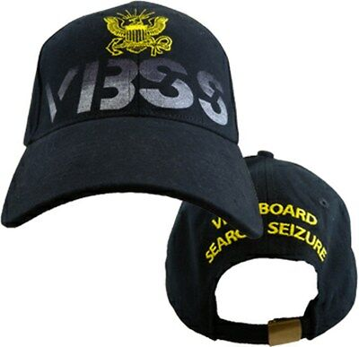 VISIT BOARD SEARCH SEIZURE Military Baseball Cap NAVY VBSS U.S