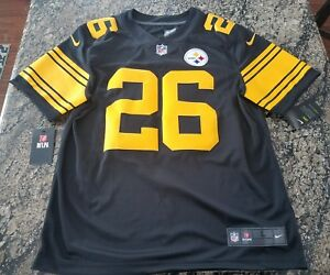 4e24f95ad Image is loading NFL-PITTSBURGH-STEELERS-COLOR-RUSH-STITCHED-JERSEY-819066-