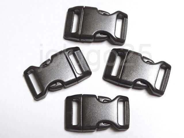 "100 5/8"" Side Release Contoured Buckles For Paracord Bracelets Webbing #3779-100"