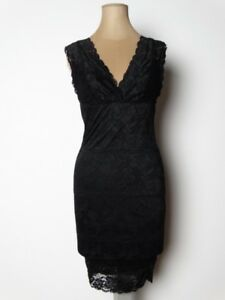 2bf86e886088 Fashion GUESS Womens Dress Little Black Lace Dress Australian Size 8 ...
