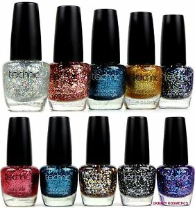 GLITTER-amp-GLITZY-JUMBO-SPECKS-GLITTER-Nail-Polish-By-TECHNIC-12ml
