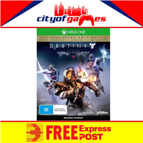 Destiny The Taken King Legendary Edition Xbox One New & Sealed Free Express Post
