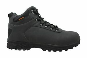 Weatherproof Mens Jason Closed Toe Ankle Cold Weather Boots, Grey, Size 12.0