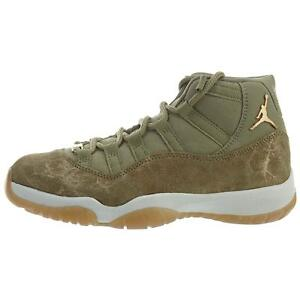 "Air Jordan Retro 11 ""olive Lux"" Neutral Olive/mtlc Stout-sail Quality First ws ar0715 200"