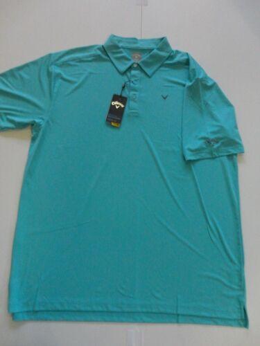 NWT Callaway Short Sleeve Polo opti-dry UPF opti-shield Retail $65