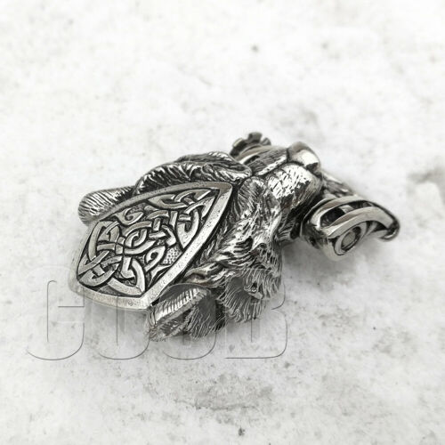 CooB Paracord Buckle Shackle Bead WILD GRIZZLY BEAR for Custom Paracord Bracelet
