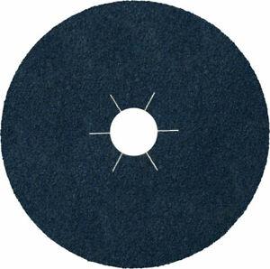 FIBRE DISC (Box of 25) Zirconia 125mm (5in) 60 Grit Sanding Discs Klingspor CS56