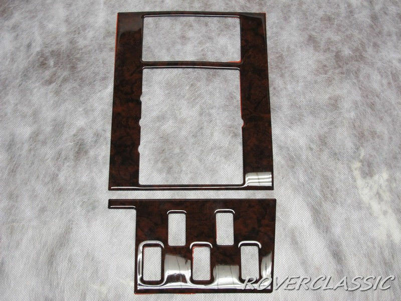 Range Rover Classic Shifter Wood Surround Kit 1995 Land Rover