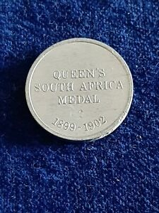 Queens South Africa Medal Collectable