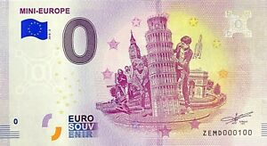 BILLET-0-EURO-MINI-EUROPE-2-BELGIQUE-2018-NUMERO-100