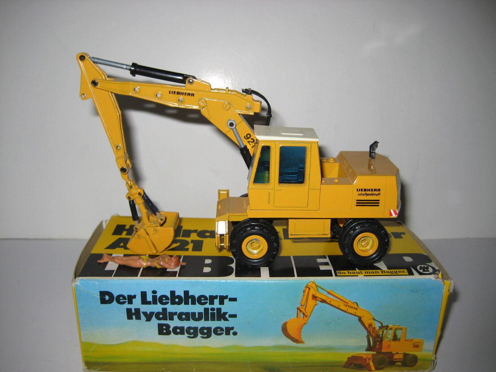 LIEBHERR A 921 SERIE B BAGGER GREIFER MOBIL CONRAD 1 50 OVP