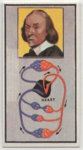 Willaim-Harvey-Blood-Circulation-English-Physician-Heart-Vintage-Trade-Ad-Card
