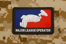3D PVC Major League Operator OAF Nation Ops Core Maritime Morale Patch NSWDG