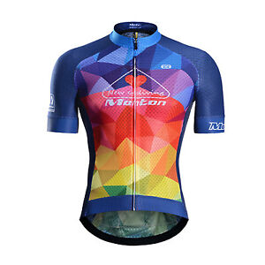 cdde32396 Monton Cycling Jersey Lavida Men s Short Sleeve Shirts Road Bike ...