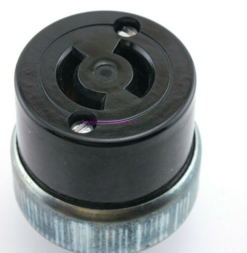 Leviton 20A 250VAC 2 Wire Turn and Pull Twist Lock AC Cord Socket