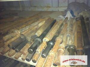 Meissel Spitzmeissel Sechskant gebraucht EE 32x152 mm. Kompressormeis<wbr/>sel Meißel