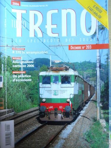 Tutto Treno 203 2006 Locomotive R 370 arrampicatrici