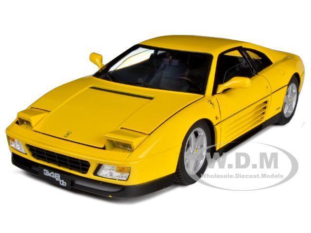 1989 FERRARI 348 TB gituttio ELITE edizione 1 18 DIECAST modello auto calienteruedaS V7437