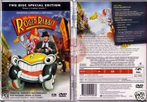 Who Framed Roger Rabbit 2 Dvd Set Bob Hoskins Lloyd New Region 4 Australia Ebay