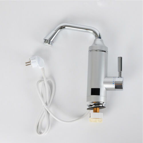 3000W Instant Electric Tankless Hot Water Heater Shower Sink Tap Faucet 220V