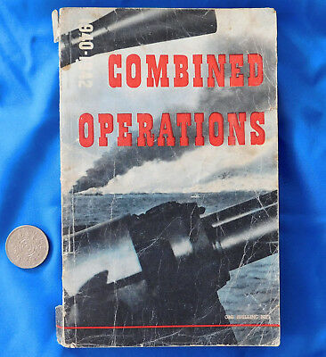 Combined Operations 1940-1942 Second World War book Commando raids Navy Army WW2